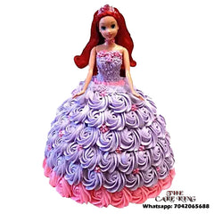 Barbie Doll Cake Indirapuram - Ghaziabd - The Cake King
