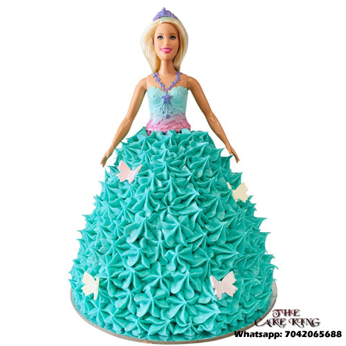 Beautiful Barbie Cake - The Cake King
