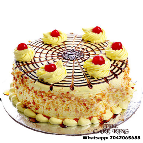 Butterscotch Cake Online - The Cake King