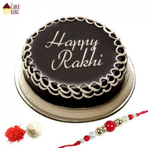 Rakhi and Cake - The Cake King