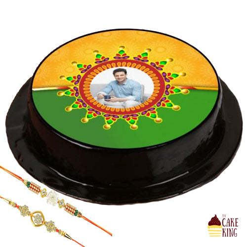 Rakhi With Cake - The Cake King