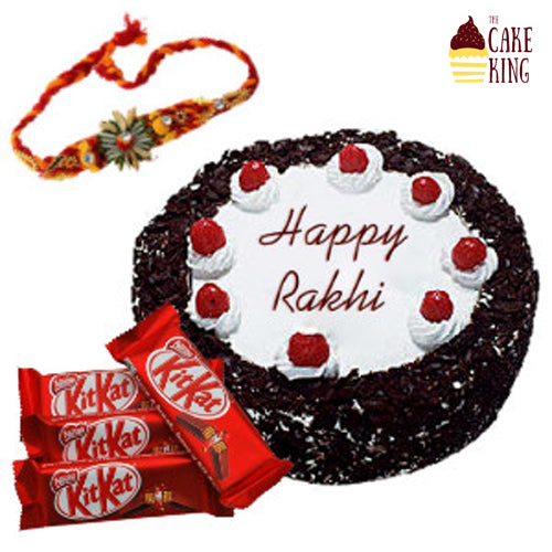 Rakhi , Cake and Chocolate - The Cake King