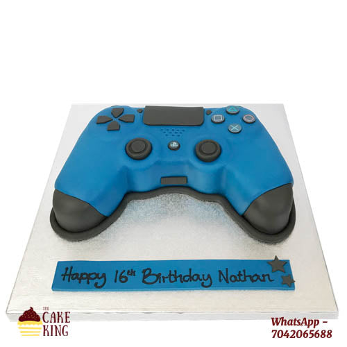 Customised Video Game Birthday Cake