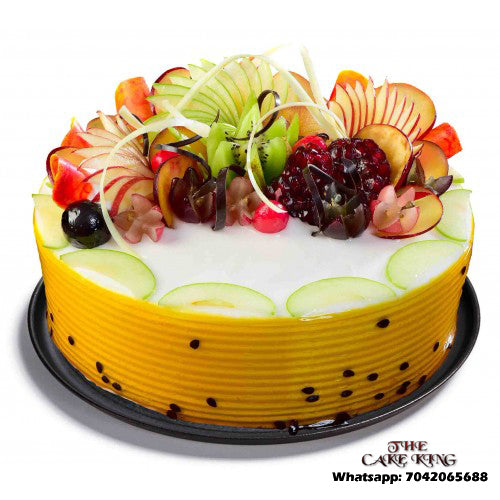 Fresh Fruit Cake - The Cake King