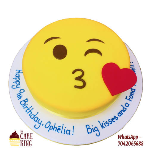Emojis Designer Cake - The Cake King