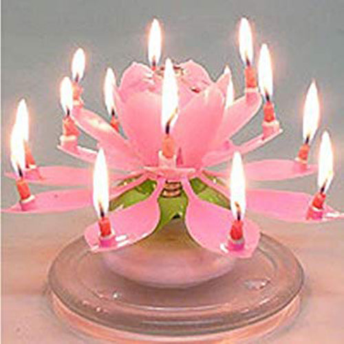 Lotus Candle - The Cake King