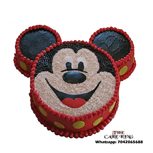 Mickey Mouse Cake - The Cake King