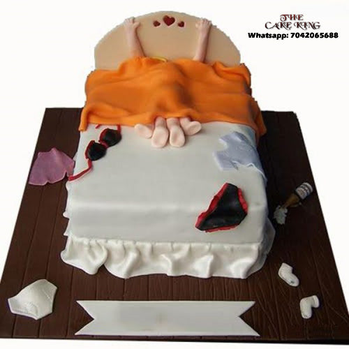 Naughty Bachelor Party Cake - The Cake King