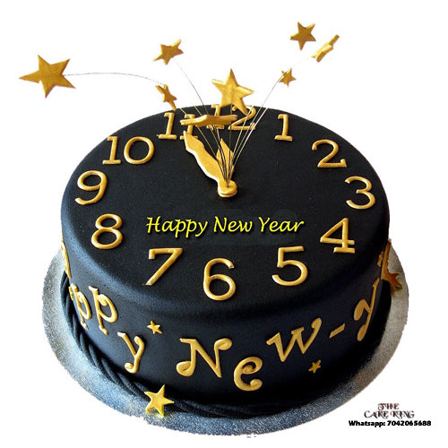 Happy New Year Cake - The Cake King