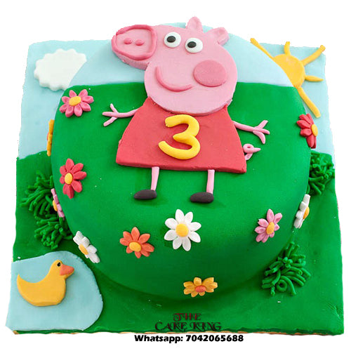 Peppa Pig Cake For Kids - The Cake King