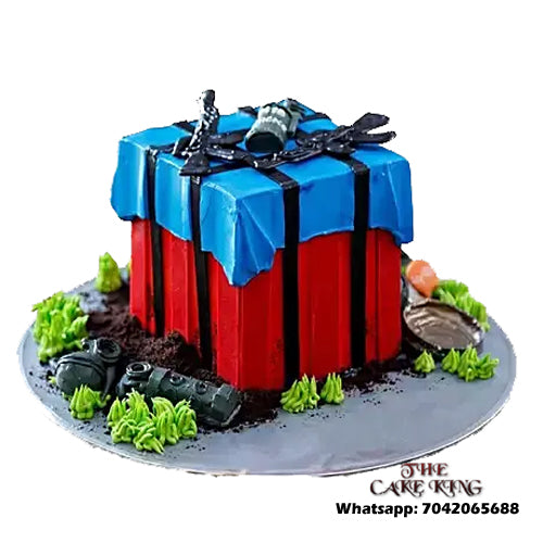 PUBG Cakes For PUBG Lovers - The Cake King