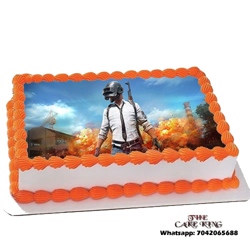 Pubg Photo Cake - The Cake King