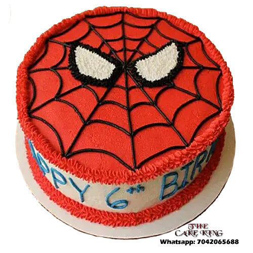 Spiderman Cake - The Cake King