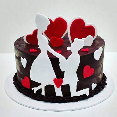 Valentine Day Cake - The Cake King