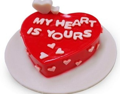 Valentine's Day Cake Online Delivery - The Cake King