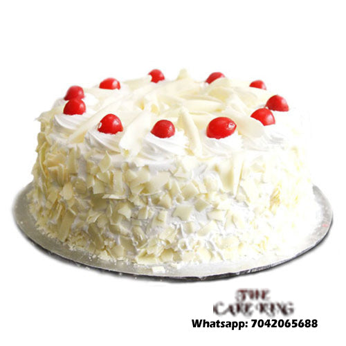 White Forest Cake - The Cake King