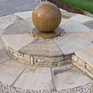 Natural stone rotundas