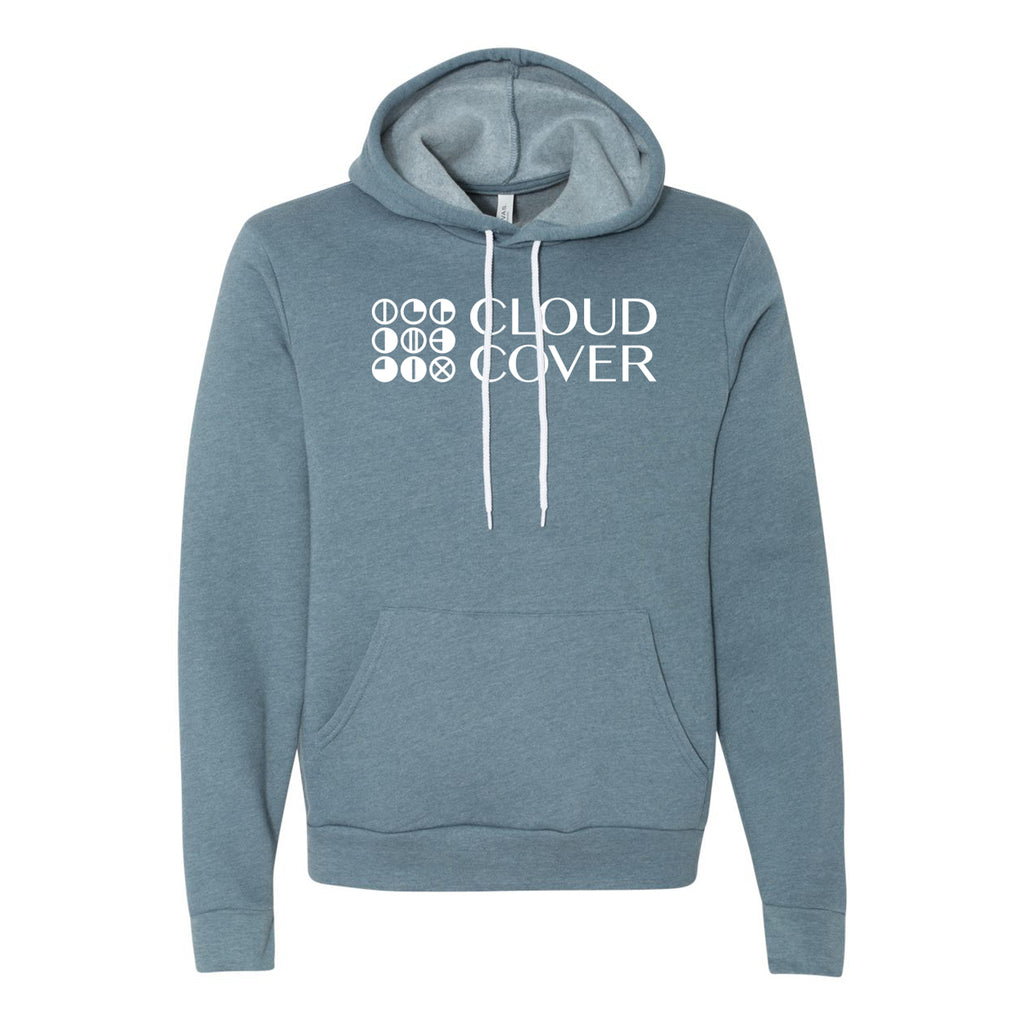 SIDESTACK LOGO Pullover Hoodie - Heather Slate