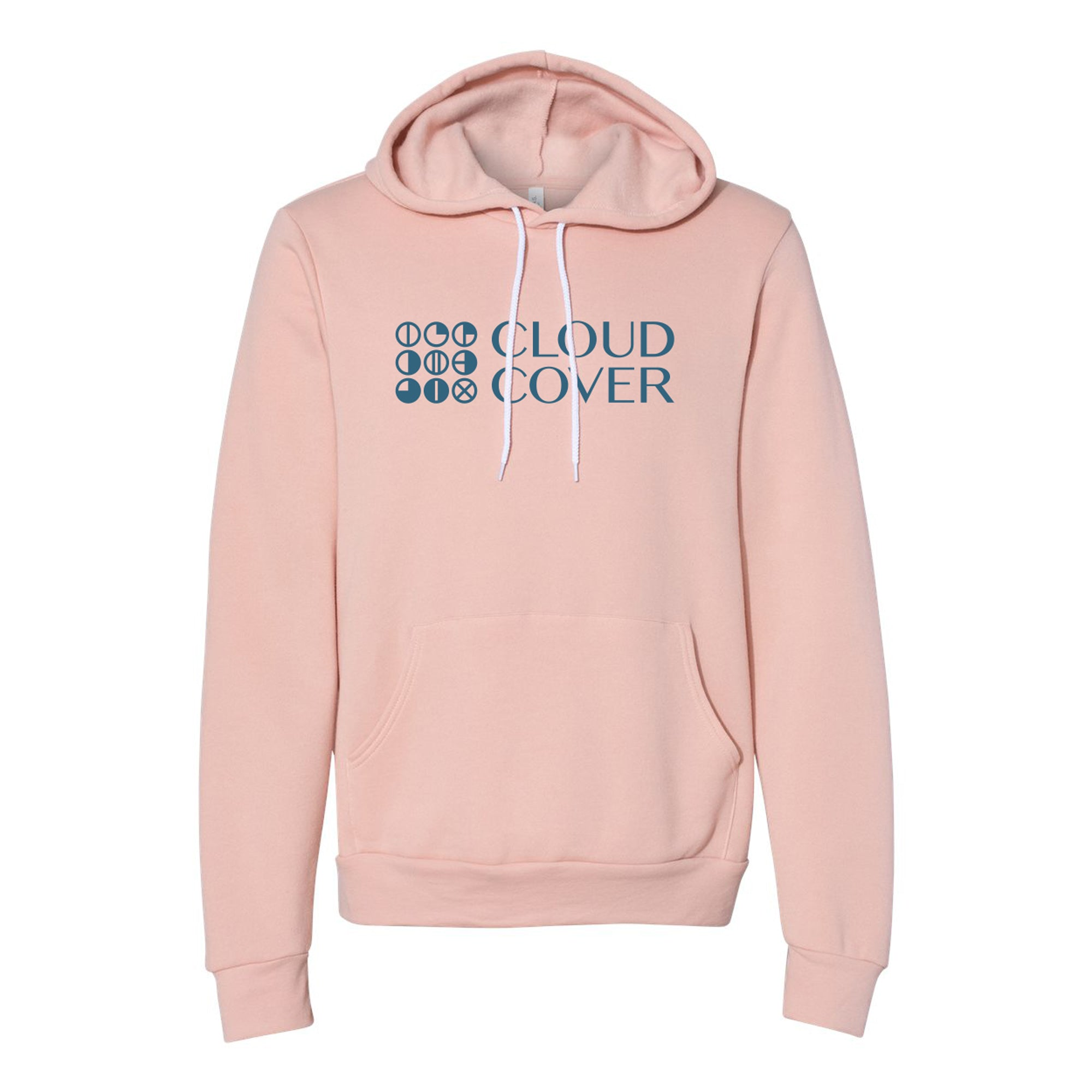 SIDESTACK LOGO Pullover Hoodie - Peach