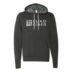 SIDESTACK LOGO Pullover Hoodie - Dark Grey Heather