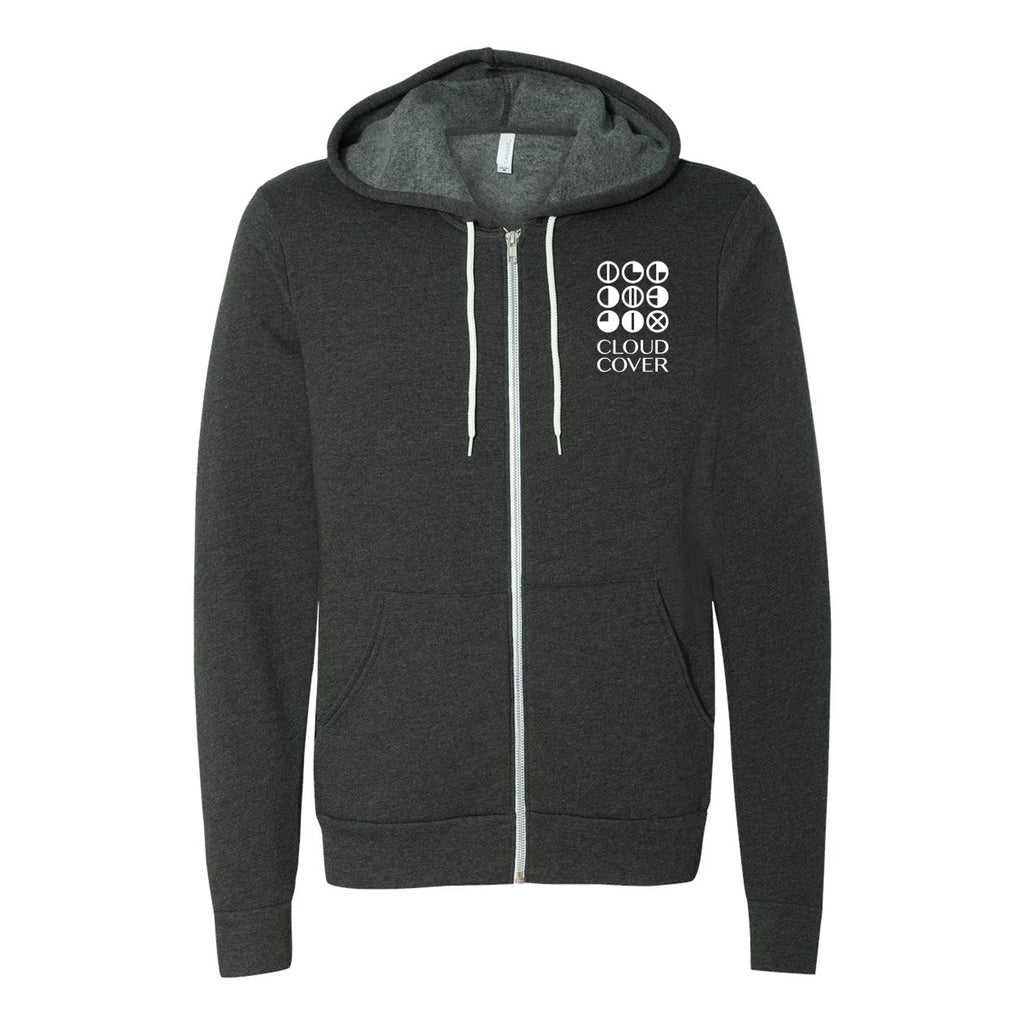 CLASSIC LOGO Zip-Up - Dark Grey Heather