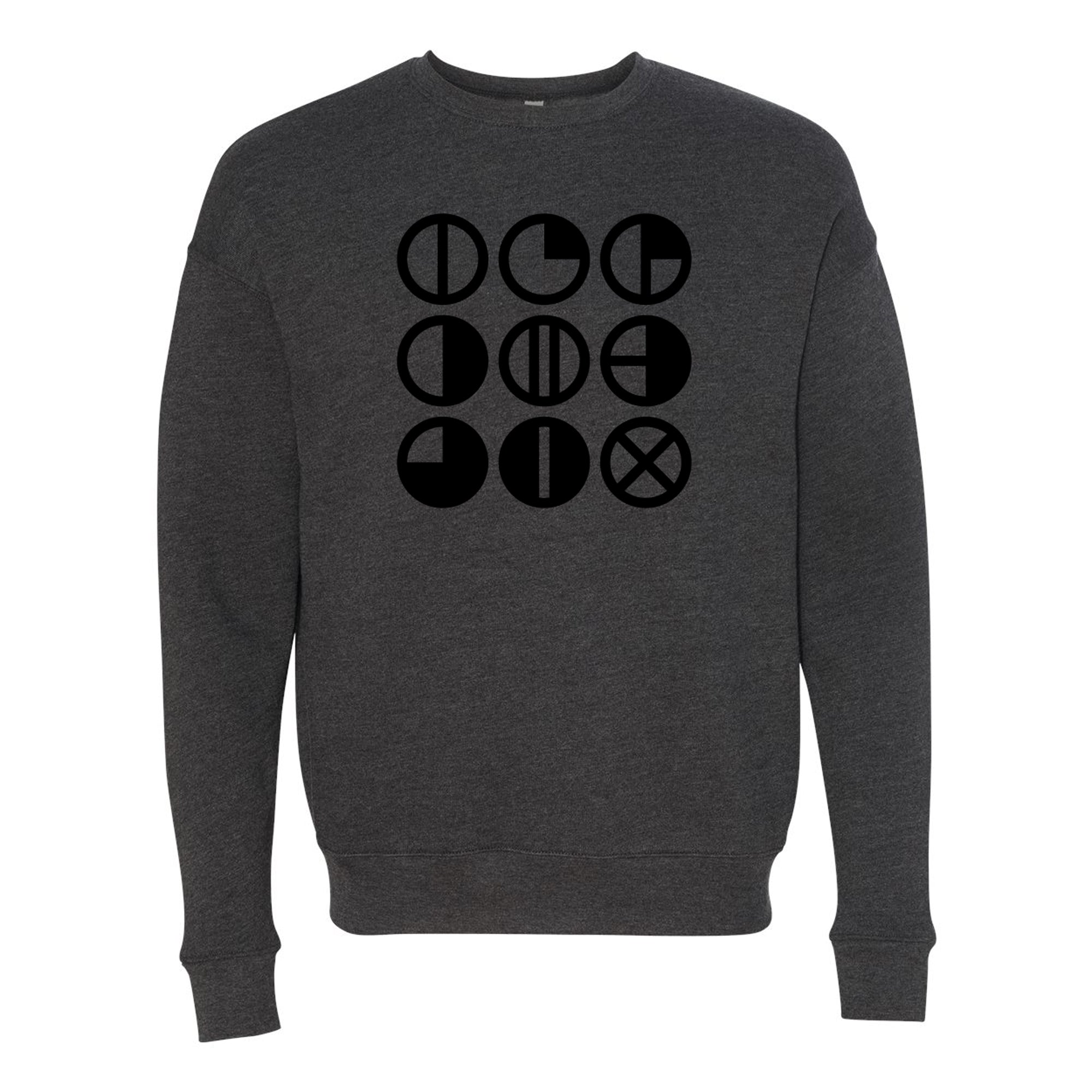 CLASSIC LOGO Sweatshirt - Dark Grey Heather
