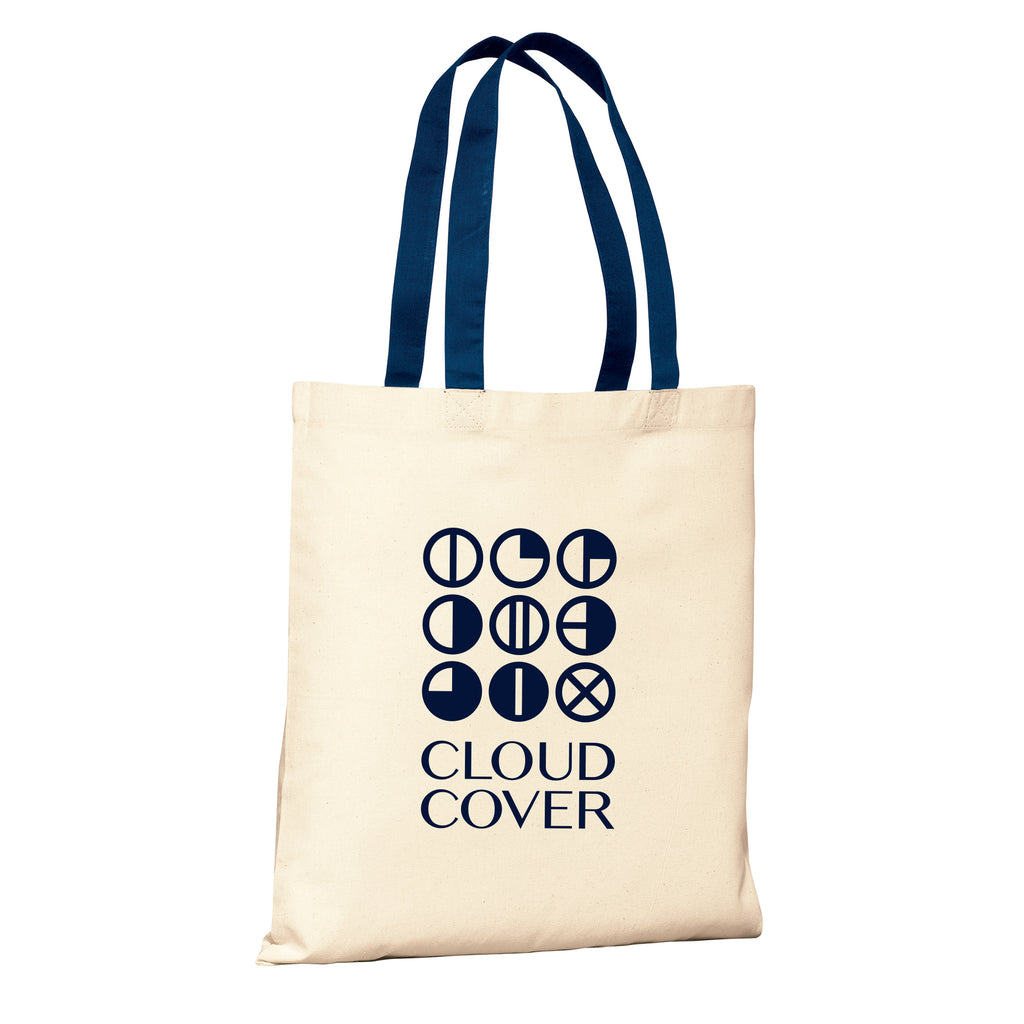 CLASSIC LOGO Canvas Tote - Canvas/Blue