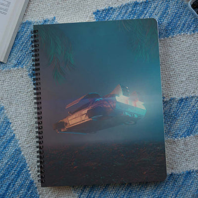 Flying Cars Spiral Notebook