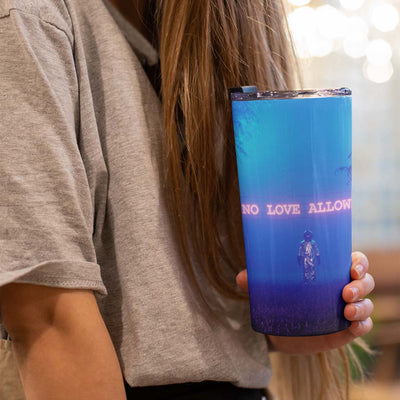 No Love Allowed Tumbler 20oz
