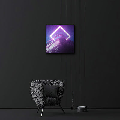 Sharp Canvas prints - BazaarDoDo