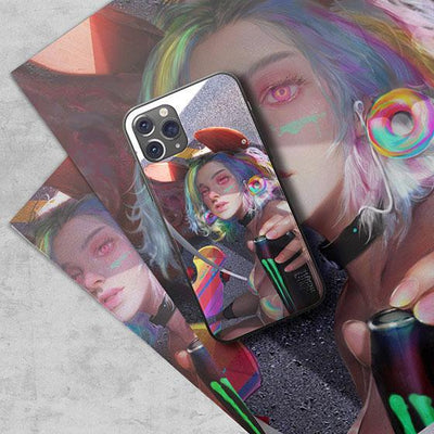 Dream Doodle LED Case for iPhone - BazaarDoDo
