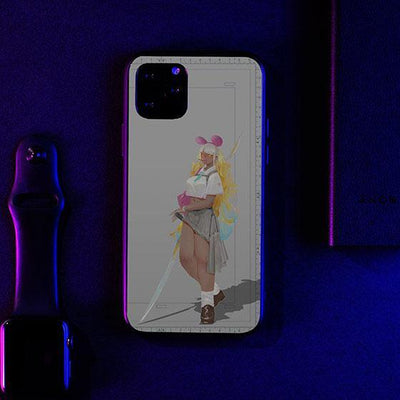 Mickey Warrior LED Case for iPhone - BazaarDoDo