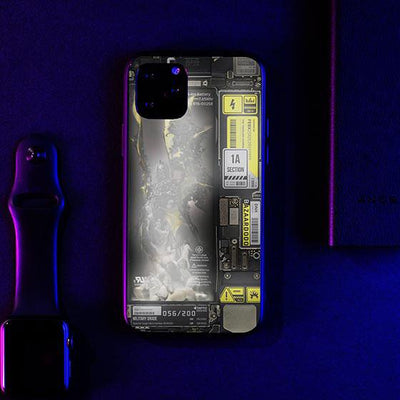 Dark Angel Industrial LED Case for iPhone-Bazaardodo