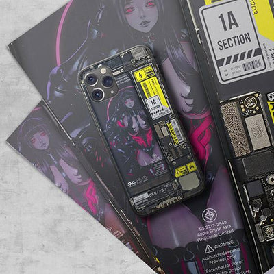 Femme Fatale Industrial LED Case for iPhone - BazaarDoDo