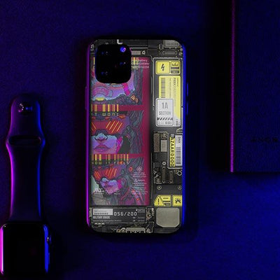 Nothing Change Industrial LED Case for iPhone - BazaarDoDo