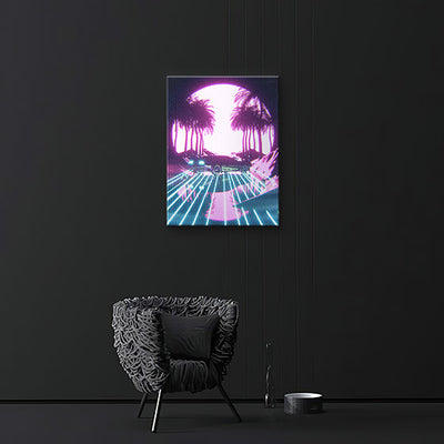 Retro Vibes Canvas prints - BazaarDoDo