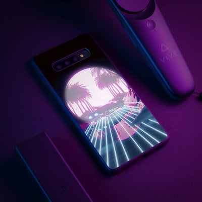 Retro Vibes LED Case-Bazaardodo