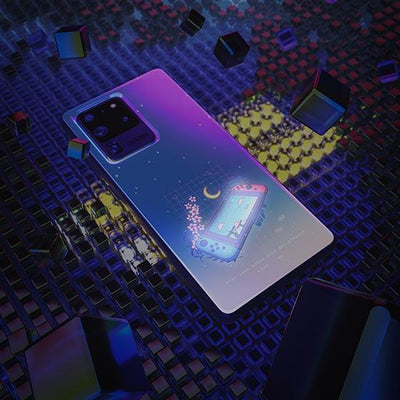 Aesthetic Switch LED Case for Samsung - BazaarDoDo
