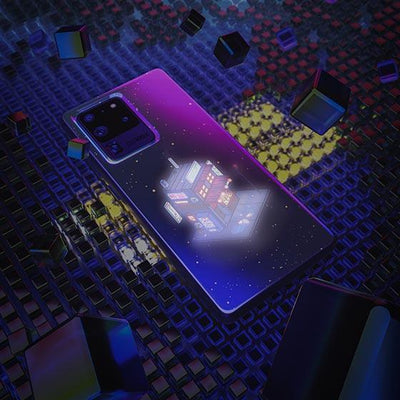Cyberpunk juusu LED Case for Samsung - BazaarDoDo