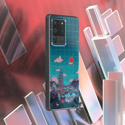 Lavender Town Dark LED Case for Samsung - BazaarDoDo