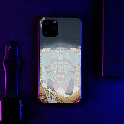 M1K0 Ghost LED Case for iPhone - BazaarDoDo