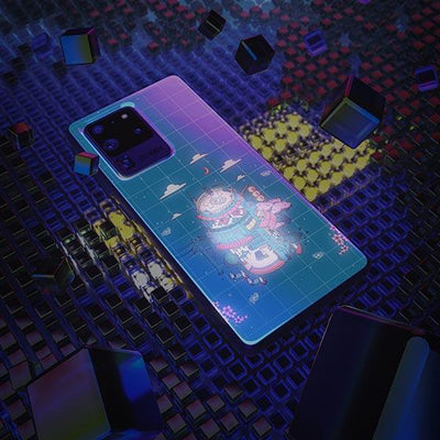 Spoopy Soda LED Case for Samsung - BazaarDoDo