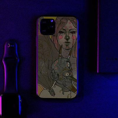 Dont Wait For Me LED Case for iPhone-Bazaardodo