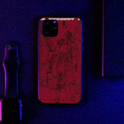 Lines LED Case for iPhone-Bazaardodo