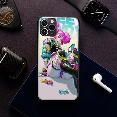 Rock on LED Case for iPhone - BazaarDoDo