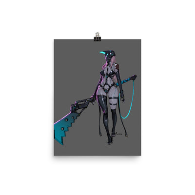 Goddes of Death Enhanced Matte Paper Posters