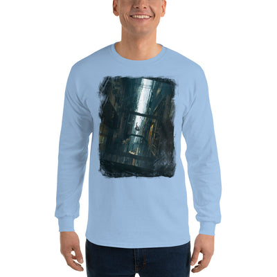 Giddy Love Men's Fitted Long sleeve shirts-Bazaardodo