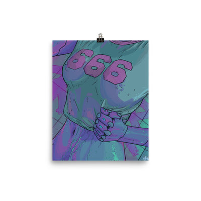 666 Enhanced Matte Paper Posters