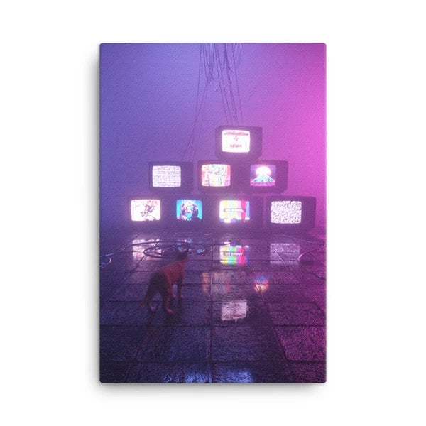 Disorder Canvas Print