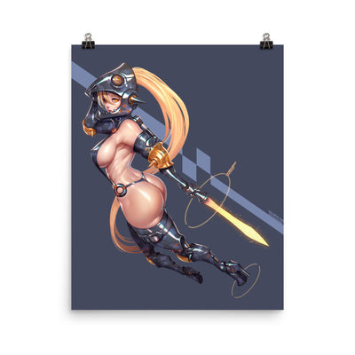 Salmon Knight Enhanced Matte Paper Posters
